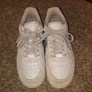 Sparkly Air Force ones